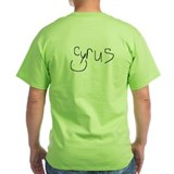 T-Shirt Signed by Cyrus