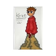 Kevin Rectangle Magnet (10 pack)