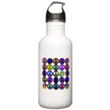 Mod Vintage Peace Water Bottle
