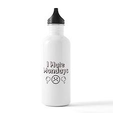 I Hate Mondays Water Bottle