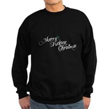 Merry Fucking Christmas Sweatshirt (dark)