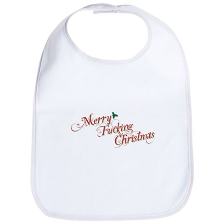 Merry Fucking Christmas Bib