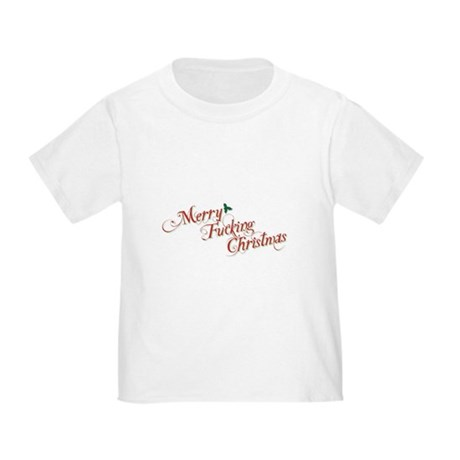 Merry Fucking Christmas Toddler T-Shirt