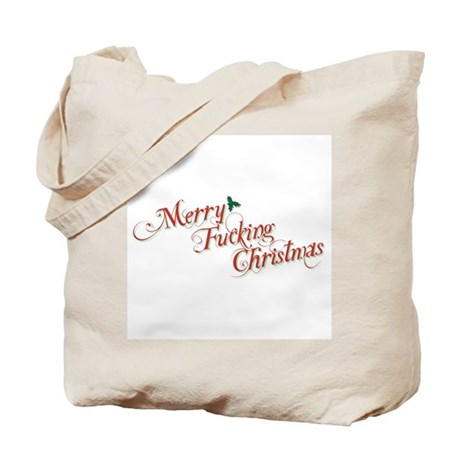 Merry Fucking Christmas Tote Bag