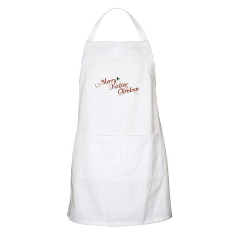 Merry Fucking Christmas Apron