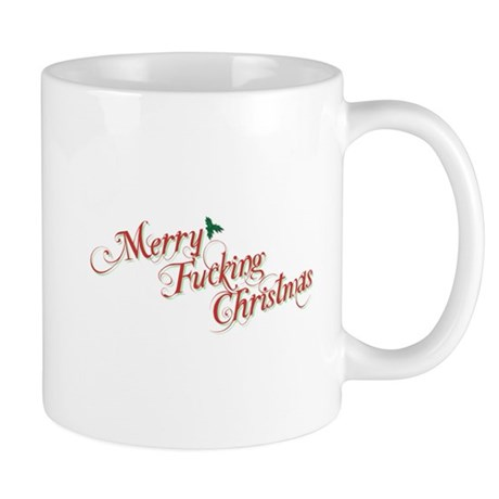 Merry Fucking Christmas Mug