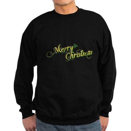 Merry Christmas Dark Sweatshirt