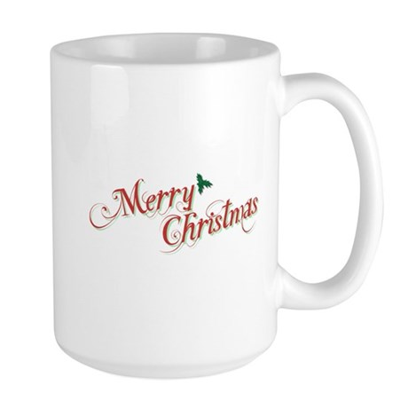 Merry Christmas Large Mug