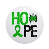 Hope Organ Transplant Ornament (Round)