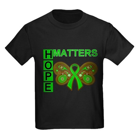 Hope Matters Organ Transplant Kids Dark T-Shirt