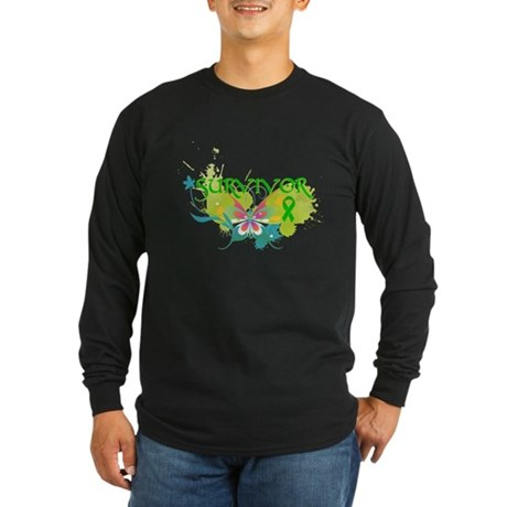 Organ Transplant Survivor Long Sleeve Dark T-Shirt