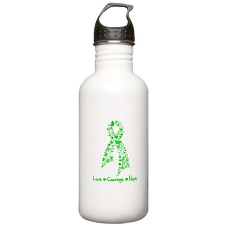 Organ Donor LoveCourageHope Stainless Water Bottle