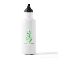 Organ Donor LoveCourageHope Water Bottle
