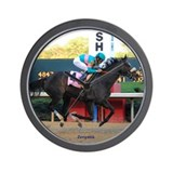 Race Horse Wall Clock