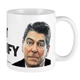 Reagan - Trust But Verify Small Mug