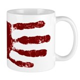 Remember to wash your hands - Handprint Small Mug