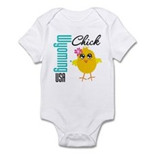 Wyoming Chick Infant Bodysuit