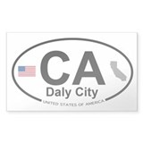 Daly City Decal