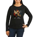Four Gamecocks Women's Long Sleeve Dark T-Shirt