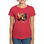 Four Gamecocks Women's Dark T-Shirt