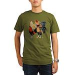 Four Gamecocks Organic Men's T-Shirt (dark)