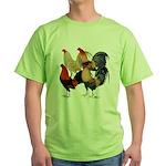 Four Gamecocks Green T-Shirt
