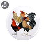 """Four Gamecocks 3.5"""" Button (10 pack)"""