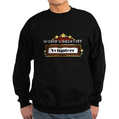 World's Greatest Volunteer Sweatshirt (dark)