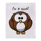 I'm a Hoot! Throw Blanket