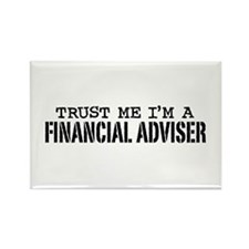 Financial Adviser Rectangle Magnet