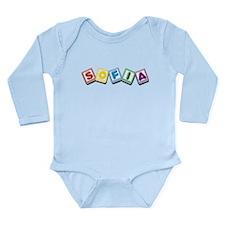 Sofia Long Sleeve Infant Bodysuit