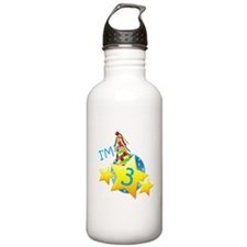 I'm Three Water Bottle
