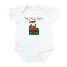 Christmas Puppy Infant Bodysuit