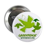 Green doves Button