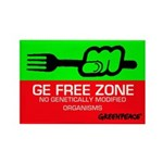 GE Free Zone Fridge Magnet