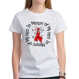 AIDS In Memory Hero Tee-Shirt