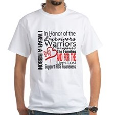 AIDS IWearRed Ribbon Tribute Shirt