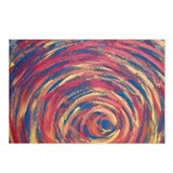 Autumn Swirl (landscape) Postcards (Package of 8)
