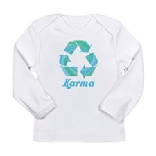 Recycle Karma Long Sleeve Infant T-Shirt