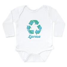 Recycle Karma Long Sleeve Infant Bodysuit