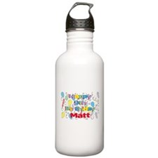 Happy Birthday Matt Water Bottle