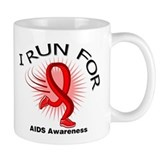 AIDS I Run For Awareness Tasse