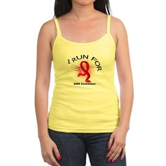 AIDS I Run For Awareness Jr. Spaghetti Tank