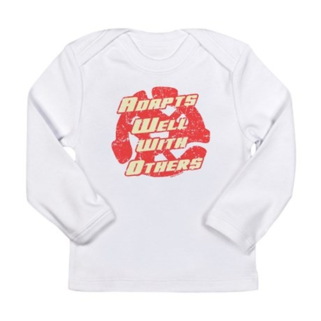 Adapts Well Long Sleeve Infant T-Shirt