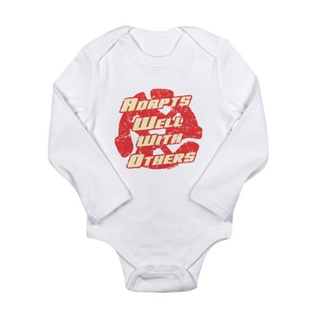 Adapts Well Long Sleeve Infant Bodysuit