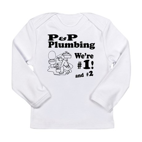 P P Plumbing Long Sleeve Infant T-Shirt