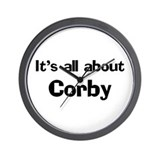 It's all about Corby Wall Clock