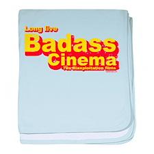 Badass Cinema baby blanket