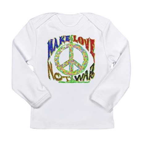 Love not War Long Sleeve Infant T-Shirt