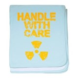 Handle With Care baby blanket